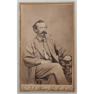 Scarce CDV of Confederate Army General Walter Husted Stevens