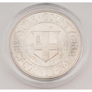 United States York County, Maine, Tercentenary Commemorative Half Dollar 1936
