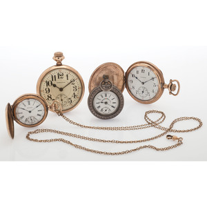 Hunter Case and Open Face Pocket Watches