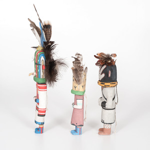 Fred Ross (Hopi, 20th century) Katsinas, PLUS