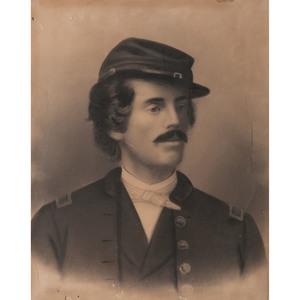Civil War Photographic Enlargements of Union Soldiers