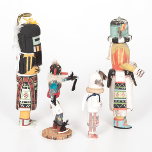 Collection of Hopi Katsinas
