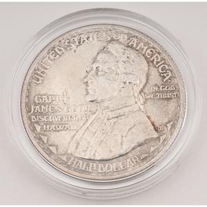 United States Hawaiian Sesquicentennial Commemorative Half Dollar 1928