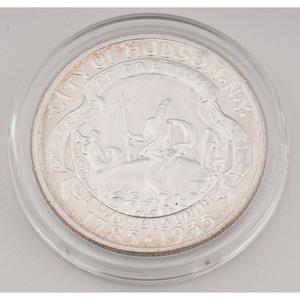 United States Hudson, NY Sesquicentennial Commemorative Half Dollar 1935