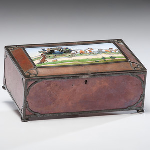 Rare Gorham Athenic Arts & Crafts Humidor