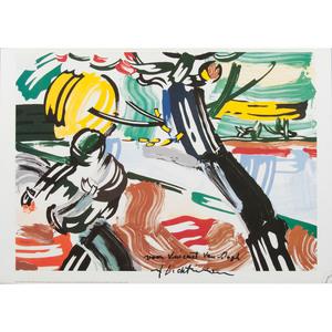 Roy Lichtenstein (American, 1923-1997) after van Gogh Poster