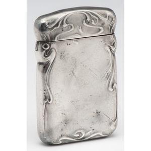 Blackinton Sterling Art Nouveau Match Safe