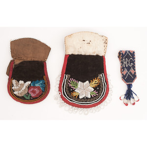 Haudenosaunee Beaded Whimsy Bags PLUS