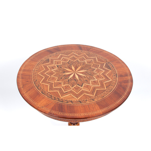 Italian Parquetry Tea Table