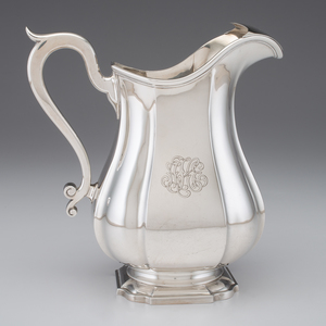 Durgin Sterling Water Pitcher