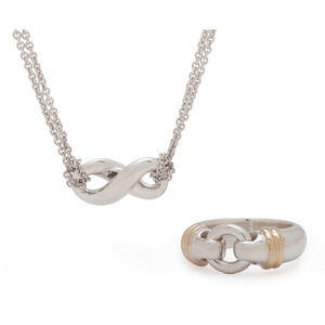 Tiffany & Co. Ring and Pendant