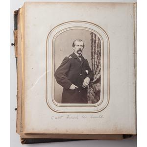 Civil War-Era Boston CDV Album Including Several Officers of the 2nd Massachusetts Heavy Artillery