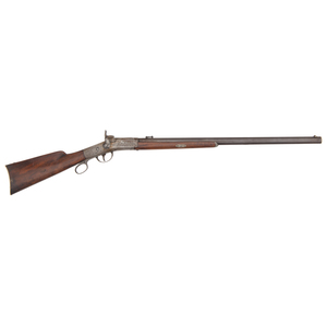 Engraved Percussion Perry Sporting Rifle
