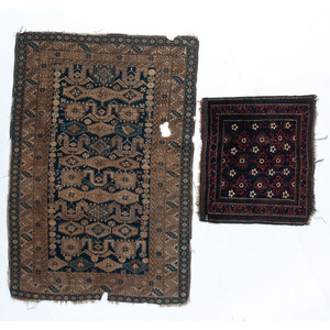 Caucasian Rug and Saddle Throw