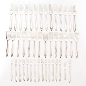 International Sterling Flatware and Candlesticks, Prelude