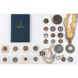 Golden Gate International Exposition Souvenir Coins, Medals, Tokens and More, Lot of 26