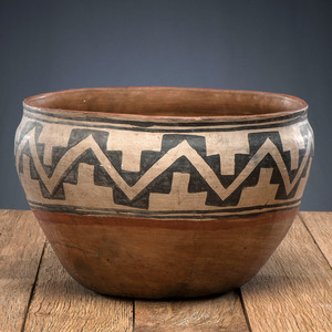 Kewa Pottery Dough Bowl, From The Harriet and Seymour Koenig Collection, NY