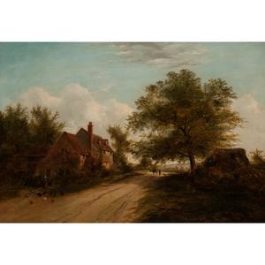 Henry Ladbrooke (British, 1800-1870) Oil on Board