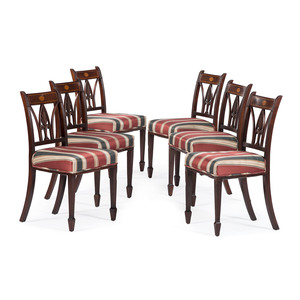 English Sheraton Dining Chairs