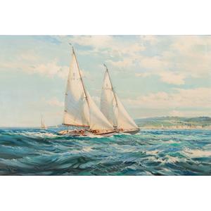 William Knox (British, 1862-1925) Oil on Canvas