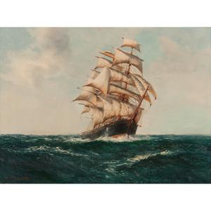Daniel Sherrin (British, 1868-1940) Oil on Canvas