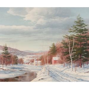 Carl Wuermer (1900-1983) Oil on Canvas