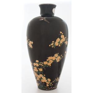 Imperial Japanese Cloisonné Presentation Vase