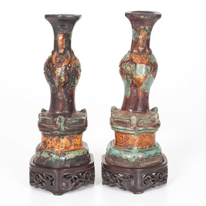 Chinese Joss Stick Holders with Custom Stands