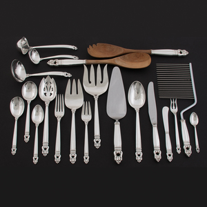 International Silver Co. Sterling Flatware Service, Royal Danish