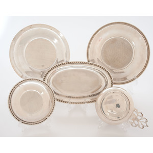 Sterling Tablewares Including Wallace, Towle, Meridan, and Blackinton