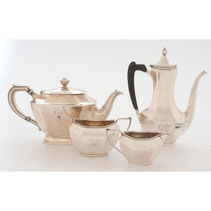 Simons Brothers Sterling Coffee Service, Plus