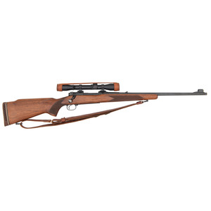 ** Winchester Pre-64 Model 70 Featherweight Rifle with Scope