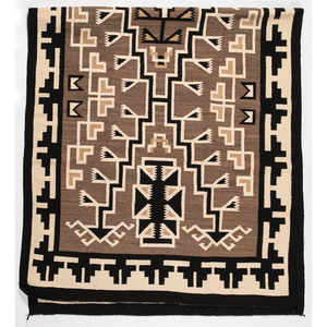 Navajo Eastern Reservation Weaving / Rug, From The Harriet and Seymour Koenig Collection, NY
