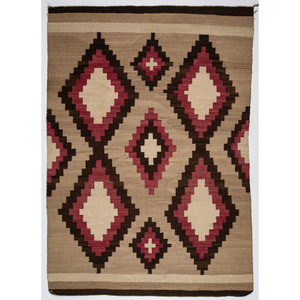 Navajo Western Reservation Weaving / Rug, From The Harriet and Seymour Koenig Collection, NY