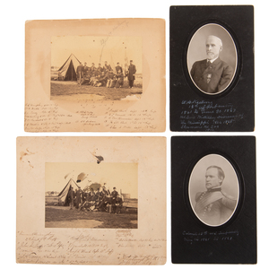 Civil War and Indian War Officer William H. Keeling, 13th US Infantry, Archive Featuring Photographs, Field Binoculars, and More
