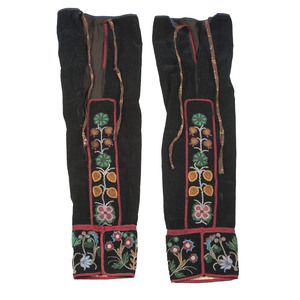 Anishinaabe Beaded Leggings
