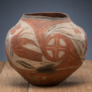 Zia Polychrome Pottery Jar, From The Harriet and Seymour Koenig Collection, NY