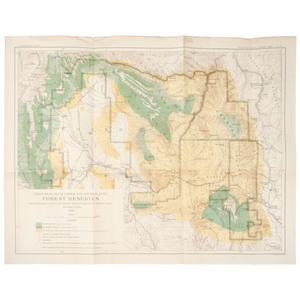 [Cartography - U.S. Geology Washington State] US Geological Survey Maps, Lot of Eight Maps Washington Forest Reserves, Pike's Peak, etc. Including Large Map of State of Washington