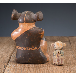 Hopi Pottery Maiden, From The Harriet and Seymour Koenig Collection, NY