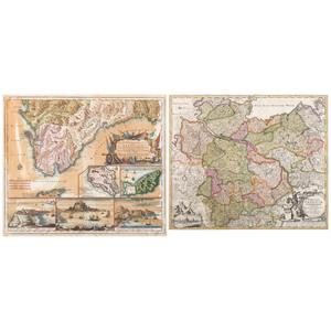 [Cartography - Europe] 18th Century Maps by Matthias Seutter (1678-1757) and Johann Baptist Homann (1663-1724) - Spain & Germany