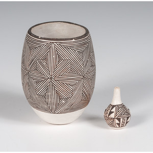 Marie Z. Chino (Acoma, 1907-1982) Pottery, From The Harriet and Seymour Koenig Collection, NY