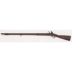 Rare Baker Contract U.S. Model 1816 Type II Flintlock Musket