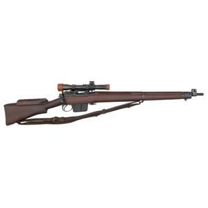 ** WWII British Lee-Enfield No. 4 MkI*(T) Sniper Rifle