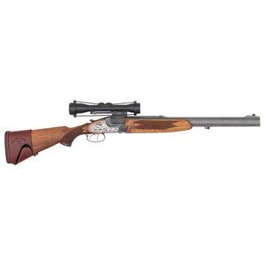 * BRNO Super Mod 575.1 Double Rifle with Scope