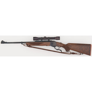 * Ruger No. 1 Single-Shot Rifle with Scope