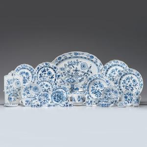 Meissen Blue Onion Porcelain Service