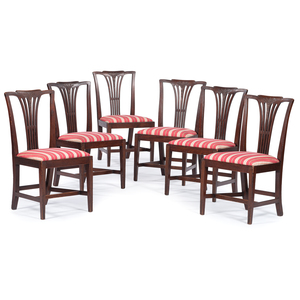 George III Hepplewhite Dining Chairs