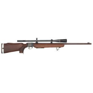 ** Custom Martini Single-Shot Rifle with Scope