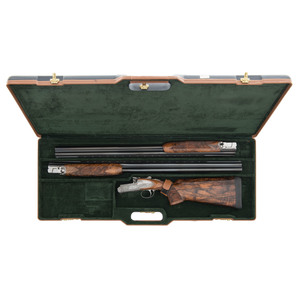 *Cased Famars Excalibur Over/Under Side-lock Two-Barrel Shotgun Set