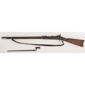 ** US Model 1884 Springfield Trapdoor Rifle W/Bayonet